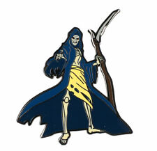 More details for iron maiden legacy of the beast - grim reaper metal pin badge - new