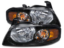 Headlights Set Left Driver Right Passenger Pair Fits 04-2006 Nissan Sentra SE-R