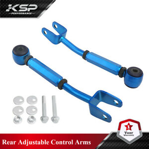 Rear Control Arm Camber Kit Adjustable Racing Fits 370Z Altima G35 37 Coupe