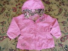 *NWT* Zero Xposur Water Repellent Jacket Pink 24 m CUTE