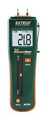 Mo260 Extech Combination Pinpinless Moisture Meter
