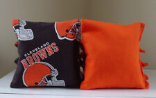 Cleveland Browns Cornhole Bags Set of 8 ~FREE SHIP!! ~Baggo Corn hole Bag set
