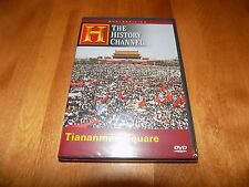 TIANANMEN SQUARE Declassified 1989 Demonstrations History Channel DVD NEW