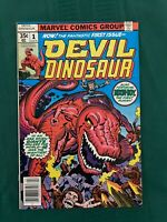 Devil Dinosaur #1 Very Fine/Near Mint (9.0) - Off-White Pages - Kirby Art!!