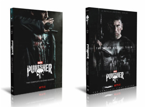 Marvels The Punisher Season 1-2 Complete Collection Series DVD Box Set New