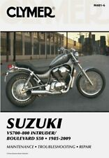 Suzuki VS700, VS750 and VS800 Intruder, S50 Boulevard 1985 - 2009 Workshop Ma...