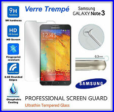 SAMSUNG GALAXY NOTE 3 Tempered Glass Vitre de protection écran VERRE TREMPE