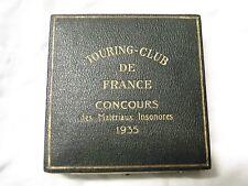 BOITE MEDAILLE TOURING-CLUB DE FRANCE CONCOURS 1935 TCF