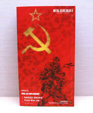 [ BRAND NEW ] Medicom RAH Metal Gear Solid 3 Cold War Real Action Heroes 1/6 Red