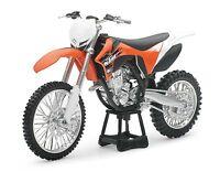 New Ray 1:12 KTM SXF 350 Die Cast Toy Model Motocross Supercross FMX SX Orange