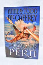 Anne & Todd McCaffrey HB Dragon's Fire 2006 First Edition DJ Bantam UK