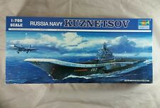 Trumpeter Russian Admiral Kuznetsov, scale 1/700 Model kit, New old stock