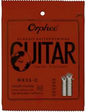 1 Pack of Classical Guitar Strings Hard Tension Black Nylon