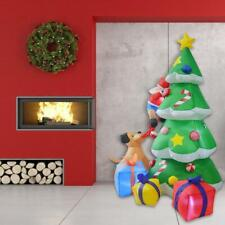 2.1M Large Inflatable Christmas Tree Gift LED Lights Outdoor Decoration Xmas UK
