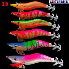 Lure 2.5 6 Squid Jigs Egi Glow Tail Fishing Lures