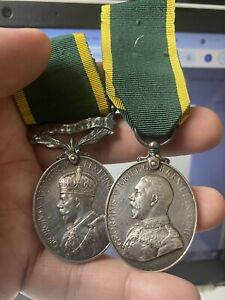 Double efficiency medal pair to SENIOR NCO Highland light infantry Sweeney