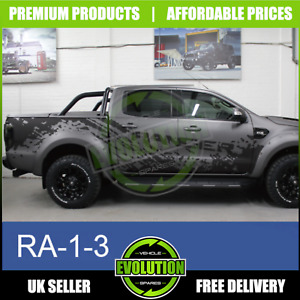 To Fit Ford Ranger 2012-2021 truck decals stickers graphics tyre mud splatter