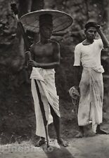 1928 Original INDIA Tellicherry Fishing Crossbow Sarong Male Photo By HURLIMANN