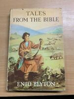 """1964 ENID BLYTON """"TALES FROM THE BIBLE"""" ILLUSTRATED HARDBACK BOOK"""
