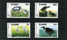 ZAIRE 1985 Sc#1195-1198 FAUNA BIRDS SET OF 4 STAMPS MNH