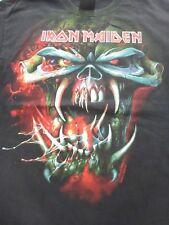 VTG Iron Maiden Final Frontier World Tour T Shirt 2010 Hanes Heavyweight M