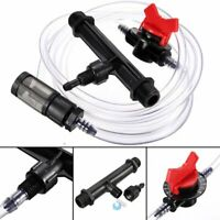 "3/4"" Garden Irrigation Device Venturi Fertilizer Injector Switch Water Tube Set-"