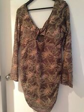 """Ladies short cocktail dress """"Lovers and Collaborators"""" size 12"""