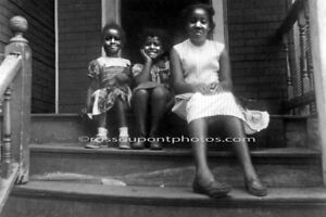 """Mother and Daughters,"" Roxbury, MA. A LIMITED EDITION PHOTOGRAPH BY R. DUPONT"