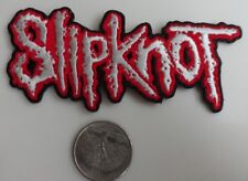 Slipknot Logo Embroidered Iron On Patch (Heavy Metal, Band, Music) Rare - New