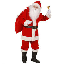 Santa Costume Super Deluxe Santa Santa Claus Costume Santa Claus