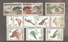TIMBRE TUNISIE 1956/1966 PA N°22/33 NEUF** MNH COTE 81 EUROS