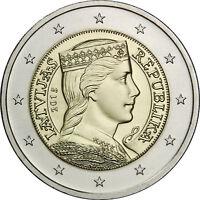 ACIU 2015 Lithuania Lietuva LITAUEN 2 Euro COIN IDIOMA Lithuanian language UNC