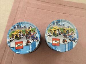 2 Vintage Lego Cookie Tins