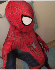 The Amazing Spider-man TASM2 Cosplay Costume Spiderman Zentai Suit Halloween Cos