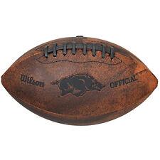 "NCAA Arkansas 9"" Throwback Football"