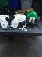Football Helmet And Gear Schutt
