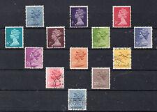 Gran Bretaña Monarquias Valores del año 1973-78 (CR-207)