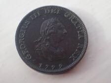 1799 British Farthing EF - aUNC . ( Lot 600)
