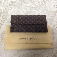 Authentic, Rare, Louis Vuitton, Brow Mono Mini Lin Bi-fold Wallet 7.5in x 4.5in