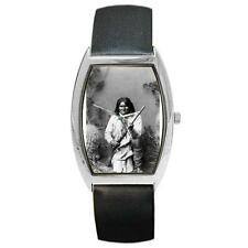 Geronimo Native American Barrel Style Metal Watch bw65
