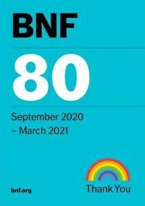 BNF 80 (British National Formulary) September 2020 - 9780857113696