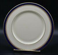 "Lenox American Jefferson Presidential Cobalt Blue & Gold 8 1/4"" Salad Plate"