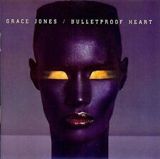 Grace Jones Bulletproof heart (1989; 12 tracks)  [CD]