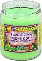 Hippie Love Smoke Odor Exterminator 13oz Jar Candle