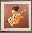 Kill Bill O-Ren Ishii Quentin Tarantino Movie Art Print Poster Mondo Tom Whalen
