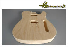 Telecaster 2 piece Swamp Ash replacement body, sin pintar, Unfinished nº 1