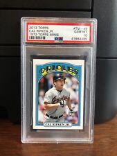 2013 Topps 1972 Topps Minis Cal Ripken Jr. Baseball Card #TM-45 PSA 10 Gem Mint
