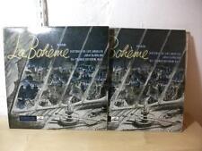 ALP 1409-10 PUCCINI La Boheme BEECHAM LOS ANGELES BJORLING HMV R/S MONO 2LP EX