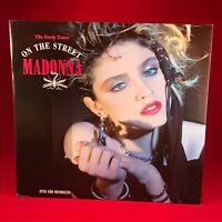 """MADONNA On The Street  UK 12"""" Vinyl single EXCELLENT CONDITION The Early Years"""
