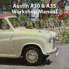 AUSTIN A30 and A35 WORKSHOP MANUAL